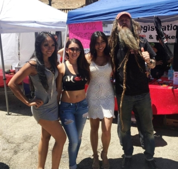 Magnus Walker with the Redline Ravens.
